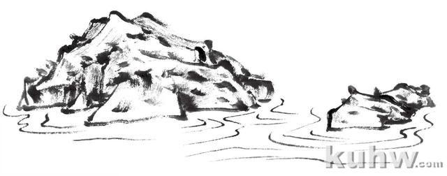 分步骤教你3种水的画法