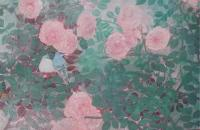 旅日美女画家卢思岩彩画作品欣赏
