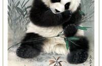 王申勇工笔大熊猫