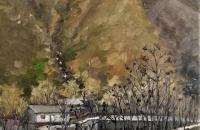 青山油画作品欣赏