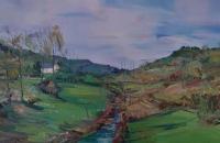 贾利珠油画风景写生作品