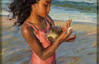 美国当代画家丹尼尔·F·格哈茨油画作品