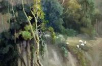 黄耀德油画风景写生作品