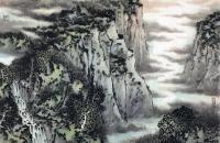 马志刚山水画作品欣赏