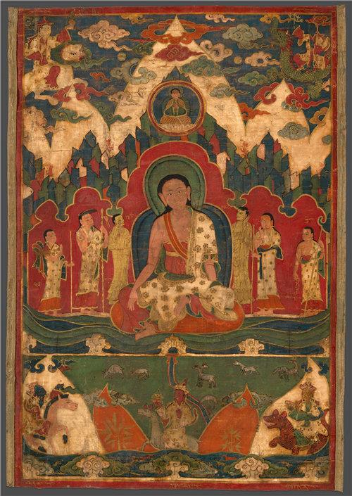 西藏《凯拉什山上的米拉雷帕》1400–1500年作品下载