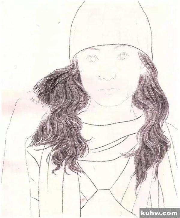 图文教程:重彩人物画法