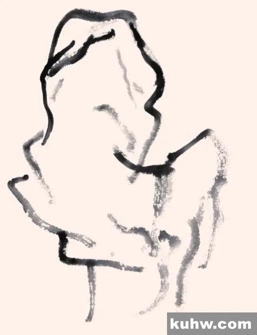 图文教程:一步一步学画常用皴法(下)