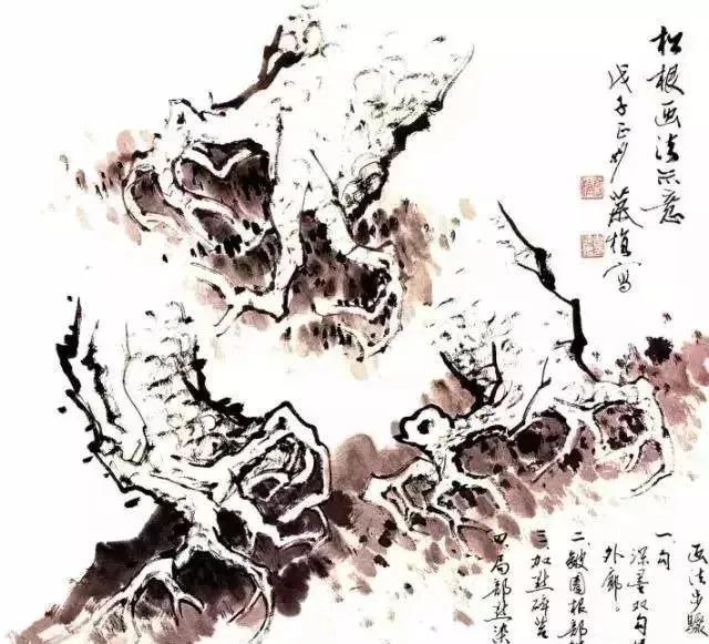 """被称为""""百木之长""""之松柏的画法"""