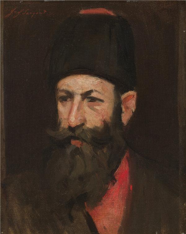 约翰·辛格·萨金特(John Singer Sargent)-哥萨克油画