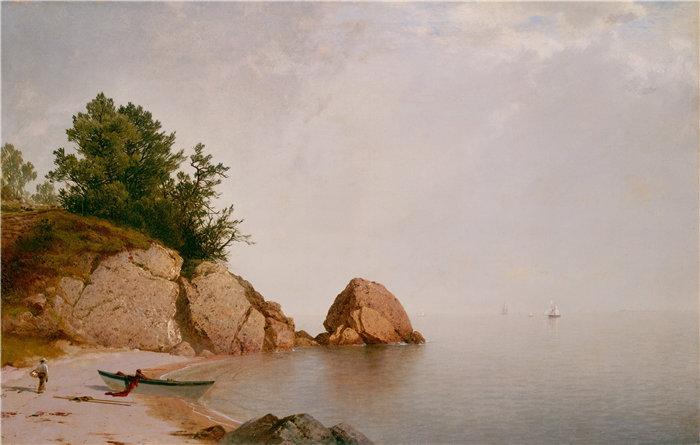 约翰·弗雷德里克·肯塞特(John Frederick Kensett)-贝弗利海滩作品下载