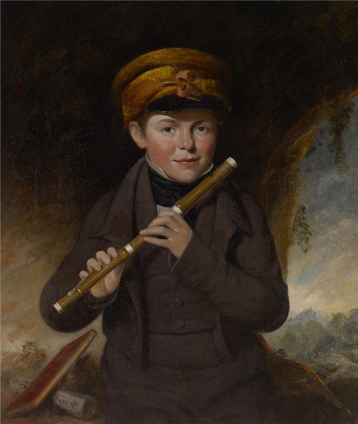 约翰·奥佩(JohnOpie约翰·奥佩(JohnOpie,英国人,1761–1807 年-小长笛演奏家小约翰·格尼