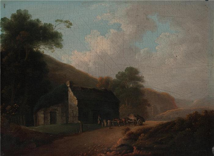 约翰·拉斯伯恩(John Rathbone),英国人,1750–1807 年-景观油画