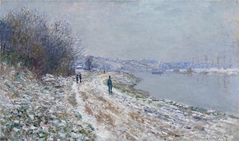 克洛德·莫奈(Claude Monet)-Chemin