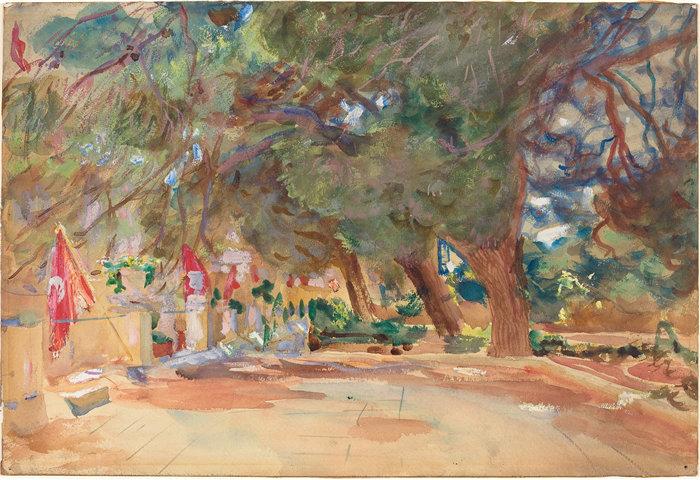 约翰·辛格·萨金特 (John Singer Sargent,美国画家)作品-战争纪念馆 (1918)