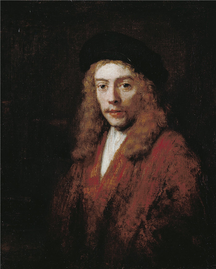 伦勃朗·范·瑞恩  (Rembrandt van Rijn,荷兰 ) 作品 - 一个年轻人