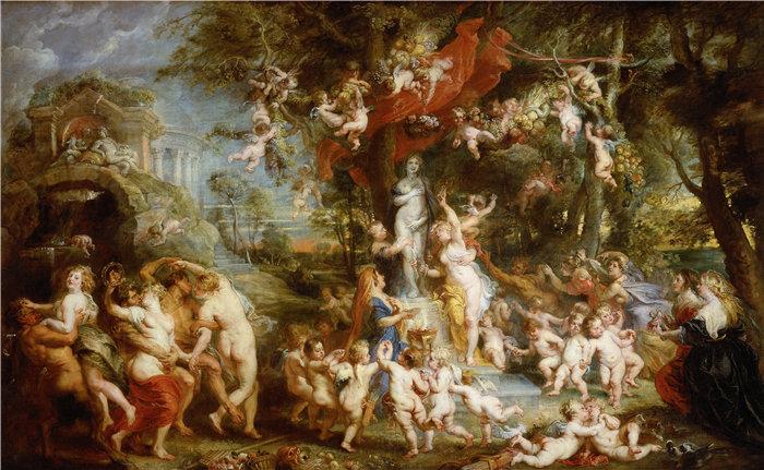 彼得·保罗·鲁本斯( Peter Paul Rubens)作品-维纳斯盛宴 (1636 - 1637)