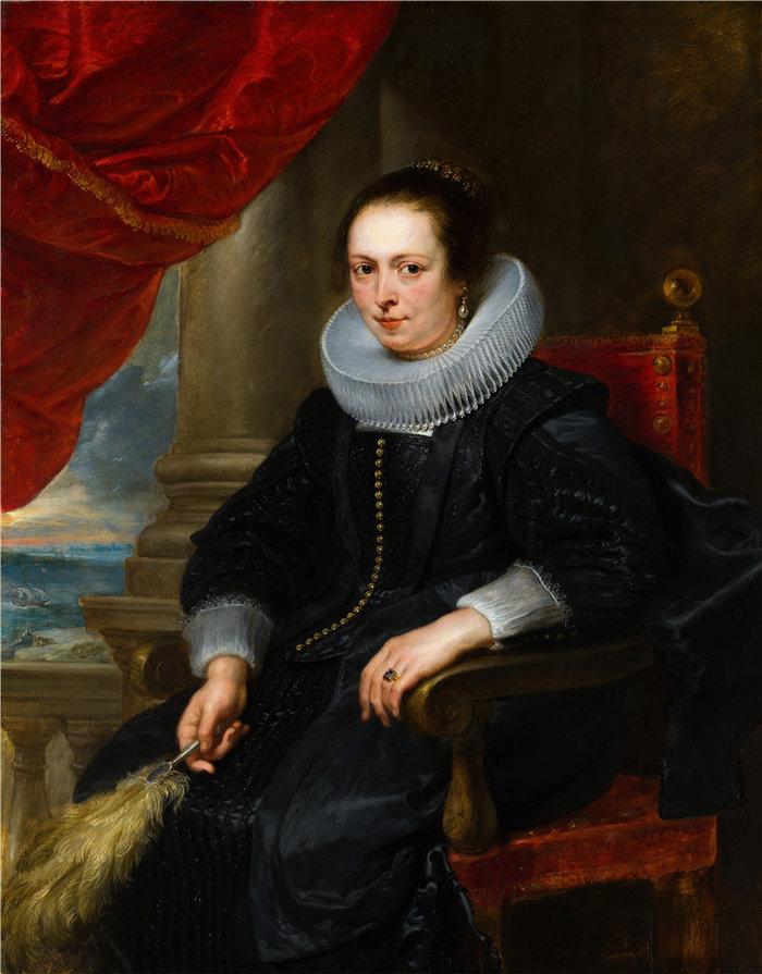彼得·保罗·鲁本斯( Peter Paul Rubens)作品-一个女人的肖像