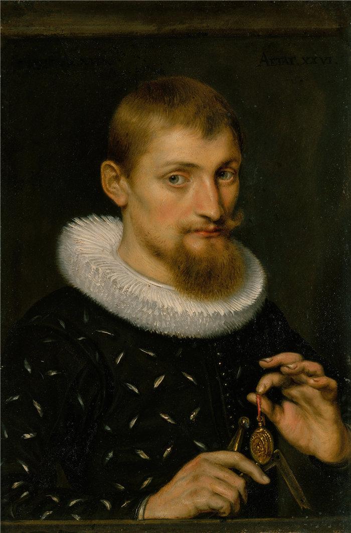 彼得·保罗·鲁本斯( Peter Paul Rubens)作品-一个人的肖像