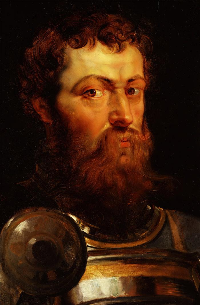彼得·保罗·鲁本斯( Peter Paul Rubens)作品-战士(1614 年至 1616 年之间)
