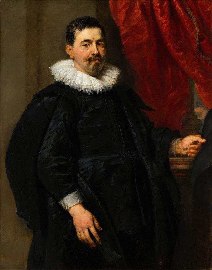 彼得·保罗·鲁本斯( Peter Paul Rubens)作品-一个男人的肖像