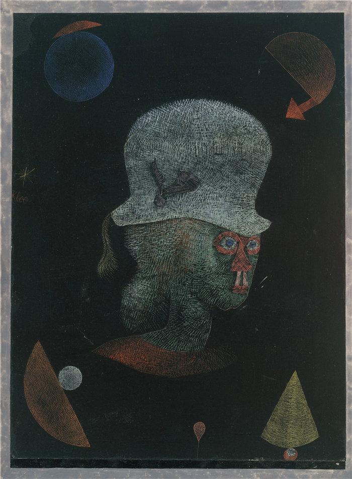 保罗・克利(Paul Klee,德国 )作品-占星幻想 (1924)