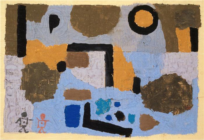 保罗・克利(Paul Klee,德国 )作品-与失去的两个 (1938)