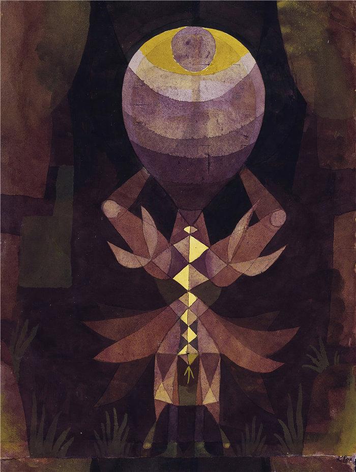 保罗・克利(Paul Klee,德国 )作品-瓦尔德比尔 (1921)