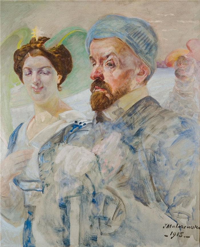 杰克·马尔切夫斯基(Jacek Malczewski,波兰画家)作品-自动端口