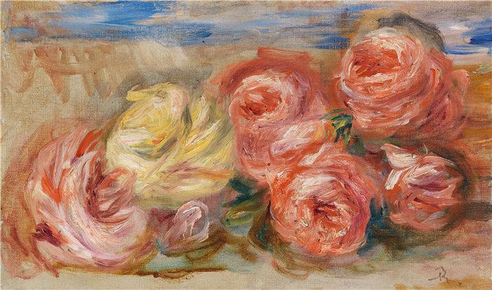 皮埃尔·奥古斯特·雷诺阿(Pierre-Auguste Renoir)作品 –罗森 (1915)