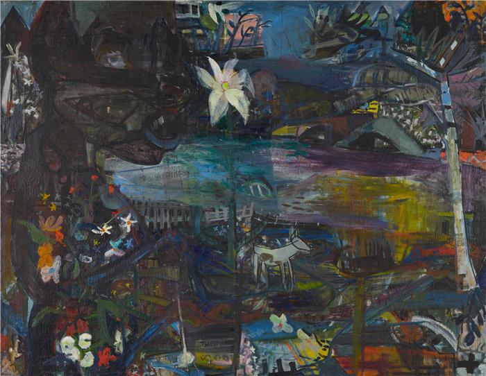 雅各布·魏德曼(Jakob Weidemann,挪威画家)作品-登大风