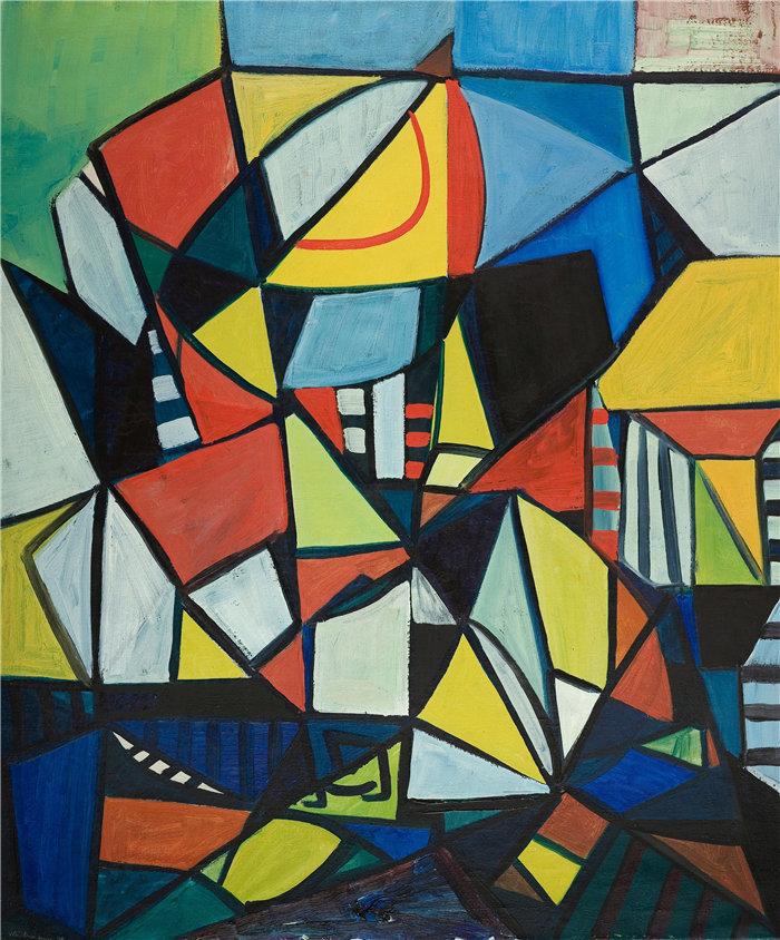 雅各布·魏德曼(Jakob Weidemann,挪威画家)作品-图 (1948)