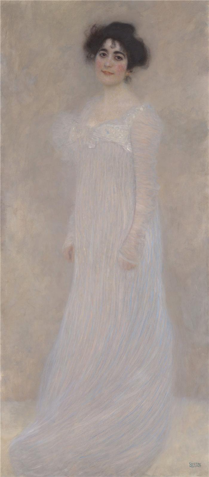 古斯塔夫·克里姆特(Gustav Klimt 奥地利画家)-瑟琳娜·普利策·莱德勒 (1867–1943) (1899)