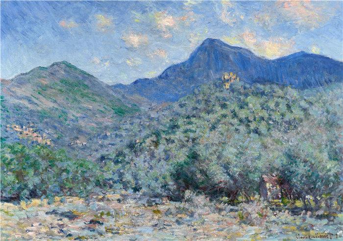 克洛德·莫奈(Claude Monet,法国画家)作品- Valle Buona,靠近 Bordighera(1884 年)