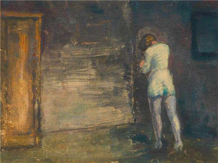 卡尔·维纳(Karl Wiener,奥地利画家 )作品-库默尔(1930 年左右)