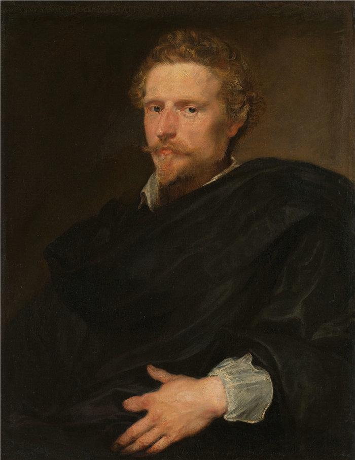 安东尼·范·戴克(Anthony van Dyck,比利时画家)作品-一个男人的肖像(约 1620 年)