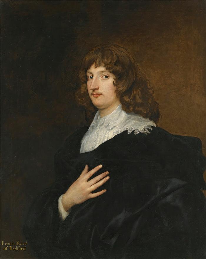 安东尼·范·戴克(Anthony van Dyck,比利时画家)作品-威廉罗素的肖像