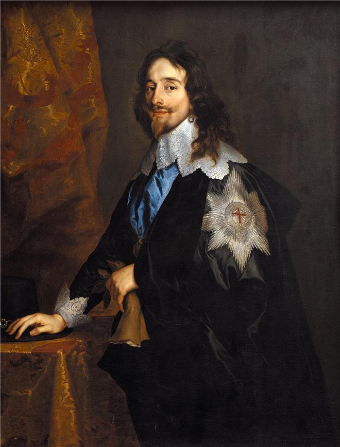 安东尼·范·戴克(Anthony van Dyck,比利时画家)作品-英国国王查理一世 (1614 – 1641)