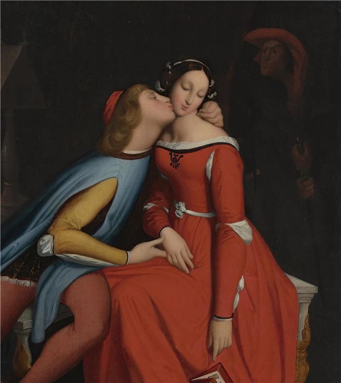 让·奥古斯特·多米尼克·安格尔(Jean Auguste Dominique Ingres,法国画家)-保罗和弗朗西斯卡
