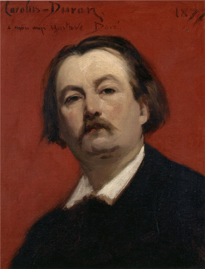 卡洛鲁斯·杜兰(Carolus-Duran,法国画家)作品-古斯塔夫·多雷 (Gustave Doré) 的肖像 (1877)