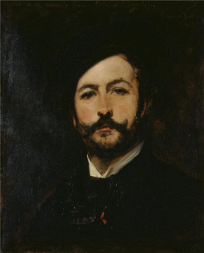 卡洛鲁斯·杜兰(Carolus-Duran,法国画家)作品-男爵 Antoine d'Ezpeleta 肖像(1882 年)