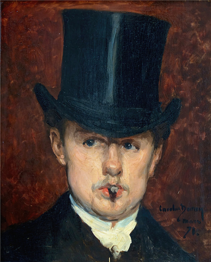 卡洛鲁斯·杜兰(Carolus-Duran,法国画家)作品-古斯塔夫·坦佩莱尔 (1871)