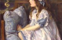 路易丝·考克斯(Louise Cox)-《梅花》(May Flowers), 1911年油画