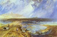 约瑟夫·马洛德·威廉·特纳(Joseph Mallord William Turner)--拉伊(Rye),苏塞克斯(Sussex)1823水彩