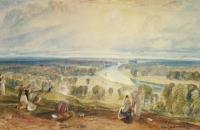 约瑟夫·马洛德·威廉·特纳(Joseph Mallord William Turner)-列治文山1820-1825水彩