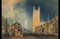 约瑟夫·马洛德·威廉·特纳(Joseph Mallord William Turner)-斯坦福1828水彩