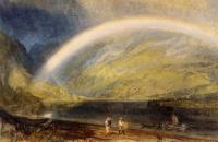 约瑟夫·马洛德·威廉·特纳(Joseph Mallord William Turner)-Rainbow 1819水彩