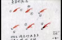 国画鱼的各种画法