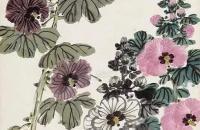 蜀葵花的画法步骤