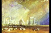 约瑟夫·马洛德·威廉·特纳(Joseph Mallord William Turner)--巨石阵1827水彩