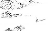 国画教程——写意山水《洞庭渔隐图》